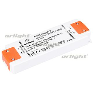 Блок питания ARV-SP24050-PFC-TRIAC (24V, 2.1A, 50W) (ARL, IP20 Пластик, 3 года)
